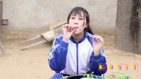 短剧:老师教同学们用柳条做口哨,真有趣