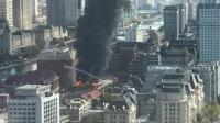 天津和平区一栋三层建筑发生火情!无人员伤亡!