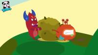 宝宝巴士:小鳄鱼宝宝用手挖鼻孔,手上很多细菌哦