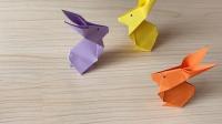 「趣味折纸」手把手教你如何折叠小兔子!