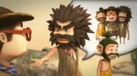 小米穿越到原始社会,帮原始人摆脱恐龙进攻