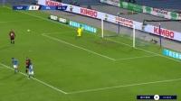 意甲-伊布双响+伤退海于格意甲首球 米兰3-1那不勒斯领跑