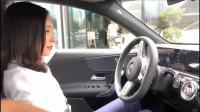 浙江舟山女司机刚提车后使用自动泊车功能与使用一月后的的区别,心真大!