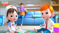 超级宝贝:宝宝不去做检查,这可不行呀,妈妈快哄哄宝宝吧