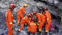 救援结束!贵州六盘水在建厂房垮塌致3死2伤