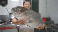 """580买条12斤的大章红,做""""小米辣鱼头""""鲜辣爽口,越吃越开胃"""