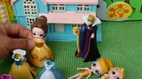 贝儿公主把裙子拿走,公主们没裙子,王后把裙子拿回来