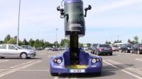 现实版站得高看得远,车身升高至3米,永远不怕找不到停车位!