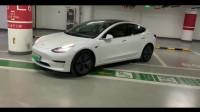 特斯拉Model3的自动泊车,这是来搞笑的么