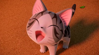 甜甜私房猫:可齐与小奇玩,差点被小奇吓到,太好笑了