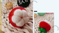 我想自己创业手工DIY店项目篇之羊毛毡山竹