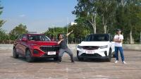 强动力+高科技+大空间? 这两款热门SUV怎么选?