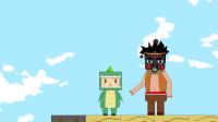 迷你小洞 迷你世界动画迷斯拉恢复要找回物资洞悲逃跑未果得修路