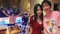 王思聪庆33岁生日 私人飞机接十余名女伴 花20万雇游艇出海