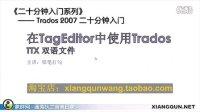 Trados 2007 二十分钟入门:第三集(共三集)