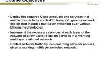 【岳阳街头联盟】Cisco.CCNP BCMSN视频录像01