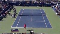 2011美国网球公开赛女单R1 李娜VS哈勒普 (自制HL)