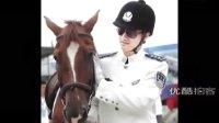 【拍客】骑警队亮相温江马术节,街头骑马执勤帅气呆了!.