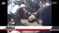 菲律宾捕获史上最大鳄鱼 体重竟超1吨【2-2】