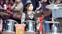 曼青!经典灌籃高手主题曲!最给力女鼓手!是好想大声说爱你!耳熟能详的歌!