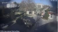 俄罗斯特种部队坦克强闯乌克兰军营