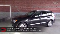 2014款宝马X3 BMW X3 内饰 动力 试驾