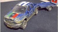 【模玩】仕高SIKU ANGER、MOUNTY皮卡合金小车玩具评测