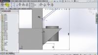 《SolidWorks 2014 实用教程》32.焊接件机架设计十四(下)
