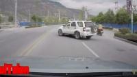 监控记录下国内各类惨烈交通事故汇编 二十三