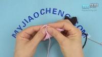 344帽子上的心-编织小屋毛衣编织视频教程