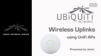 Creating Wireless Uplinks with UniFi