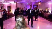 新郎率死党大跳精心设计婚礼舞蹈惊呆新娘