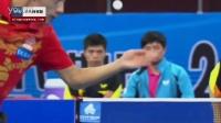 张继科慢动作:正反手弧圈球、拧拉、逆旋发球_乒乓球教学视频