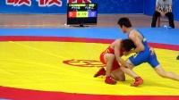 2014全国青年男子自由式摔跤 66KG 广东VS浙江