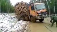 重型卡车奋力