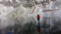 治愈系滑冰美cry!纯净冰面上滑行宛如梦境