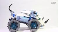 乐高LEGO 70131 气功传奇 大力犀的悍犀抛石机