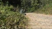 最新实拍缅甸战场激战 原始录像