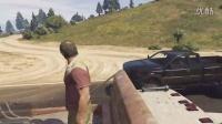 你见过这样搭便车作死的吗:尊榊搞GTA5崔佛支线好莱坞纪念品