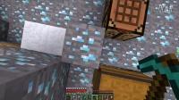 我的世界MC  钻石大陆地图 第四期   木头从此再也不缺了  钻石矿石之家   房子的顶即将封好