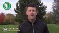 打起草皮 打痕控制练习 提高击球稳定性 Jhon Grothe  wstgolf高尔夫教学视频