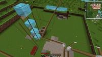 Minecraft我的世界休闲娱乐一周目第三期——玻璃房建成【铭欣解说】