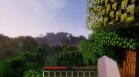 我的世界*Minecraft*筱峰的建筑向作死生存&第一期&:峡谷中的小避难山洞