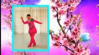小莉广场舞扇子舞《月桃花》编舞:凤凰六哥附分解#广场舞#