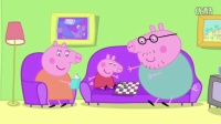 小猪佩奇要乔治当小宝宝游戏,粉红猪小妹能照料好乔治吗?