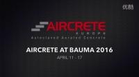 Aircrete Europe at Bauma 2016