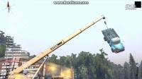 旋转轮胎MODS丨TITAN泰坦大吊机极限越野吊车实况!