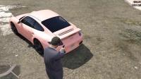 【小辉哥】第3期 GTA5 汽车MOD 保时捷911 Turbo高速飚车