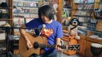 左轮评测:saga陈磊签名款民谣吉他试听评测