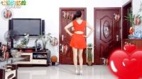 麦芽广场舞——心爱的姑娘   红裙+小黑裙版